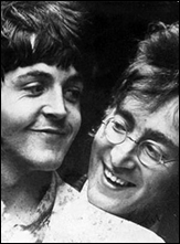 Paul McCartney And John Lennon Circa 1967